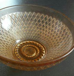 Салатница стеклянная