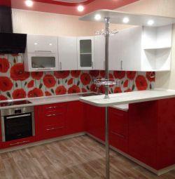 Kitchen MDF 1200 * 3550 * 2300