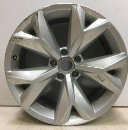 Cast disk 8J.R18.H2.ET34 Volkswagen Teramont oem 3cn601025 (scuffing) (skl-3)