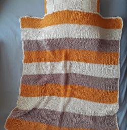 Νέο μαξιλάρι και σετ κουβέρτα