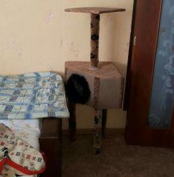 Σπίτι για τη γάτα.