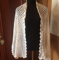 Handmade scarf scarf boho country lace