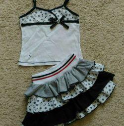 Costum pentru dimensiunea fetei 80-86