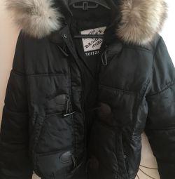 Χειμερινό σακάκι με πολική αλεπού