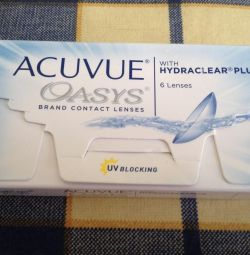 Линзы ACUVUE Oasys D+3