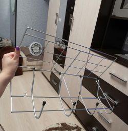 Hinged hanger