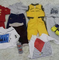 Детские вещи пакетом 3-7мес