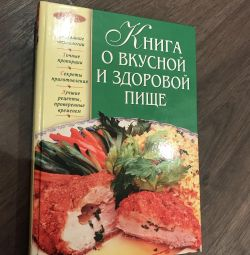 The book is about tasty and healthy food, new