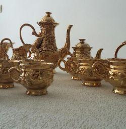 Сервиз чайно-кофейный на 6 персон (16 предметов)