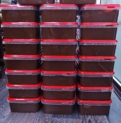 Nutela chocolate paste container 1 kg