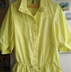 Ветровка-рубашка-блуза