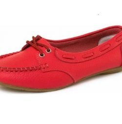 Zenden piele Loafers