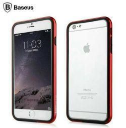Σειρά Baseus Fanyi Προφυλακτήρας για το iPhone 6. Κόκκινο