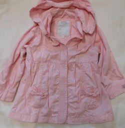 Jacket raincoat size 98