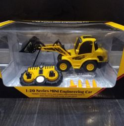 Loader 1:20, 28cm, 6 channels With accessories