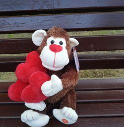 Funny baboon
