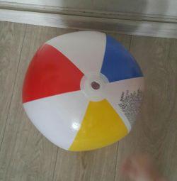 Plaj topu şişme yeni çapı 32 cm