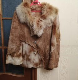 Italian sheepskin coat exclusive