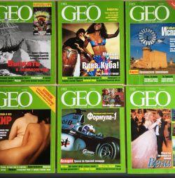 Журнал GEO 1999 рік