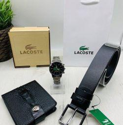 set belt + wallet + watch new