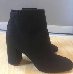 Bayan ayakkabı süet. Pahalı değil!
