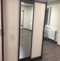 Sliding wardrobe with a mirror with delivery