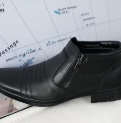 Boots man's genuine leather