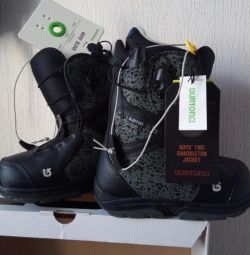 Boots for snowboard. P.35