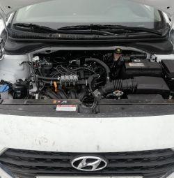 Hyundai Solaris 4. nesil HBO kurulumunda Propan