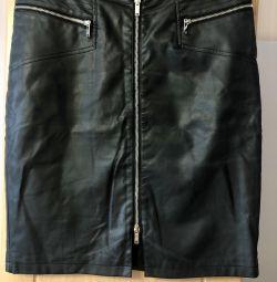 Skirt δέρματα / αναπληρωτής Mohito