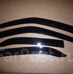 Window deflectors (visor) for Honda Civic EK3