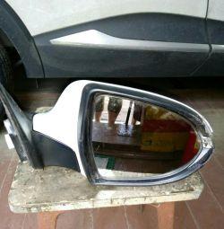 Зеркало Кия-с электро обогревом и электро приводом