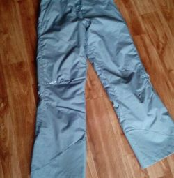 Pantaloni de schi de iarnă.