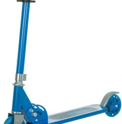 Scooter blue re Action