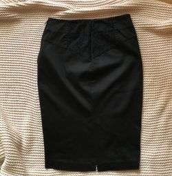 Black skirt pencil guess