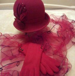 фетровий капелюшок