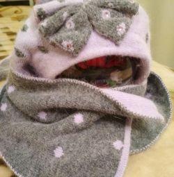 Шапка і шарф