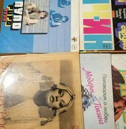 Vinyl records USSR