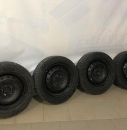 Tekerlekler yaz Wolksvagen polo 185/60 / R15 / 5x100