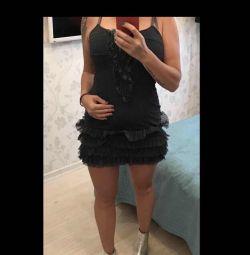 Новое клевое Платье Италия 44-46 джинсовый цвет