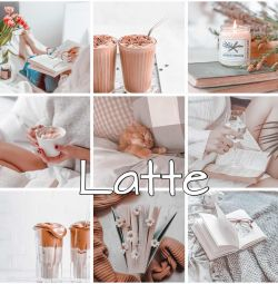 Preset Latte for Lightroom