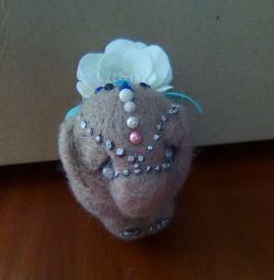 Handmade toy (elephant)