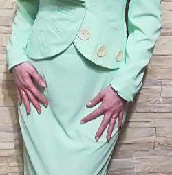 Μπουφάν κοστούμι, φούστα
