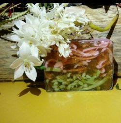Handmade Glycerin Soap Grape