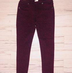 Pantaloni Zara pentru fetița de 7 ani