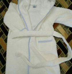 Bathrobe for 2 years