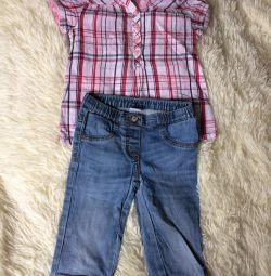 Gömlek + pantolon