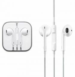 Наушники Apple с микрофоном