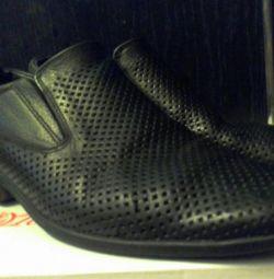 Deri ayakkabılar, erkek çocuk için 37-38 р-р