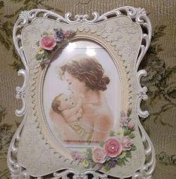 Very beautiful vintage photo frame.